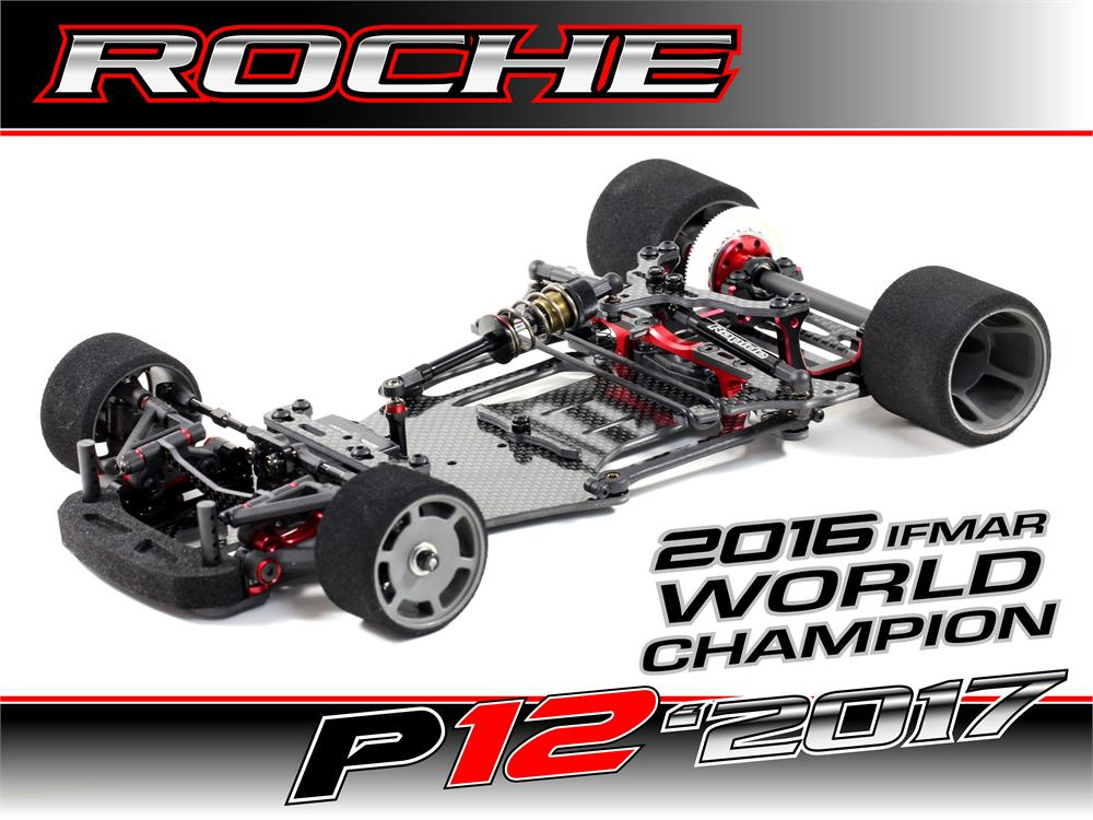 Roche Rapide P12-2017 1/12 Competition Car Kit