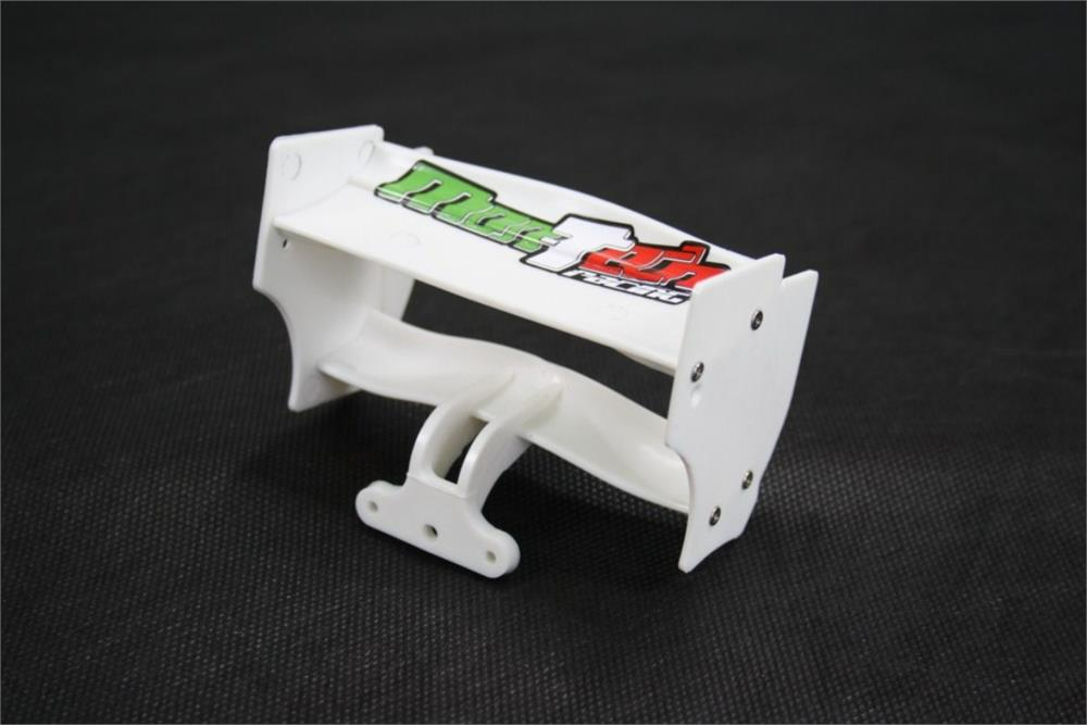 WING F1 REAR WHITE