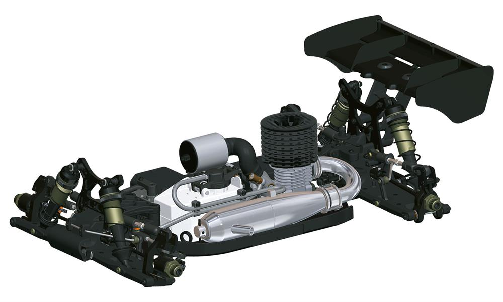 D819 1/8 Competition Nitro Buggy