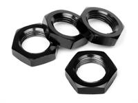 17mm Wheel Nut (Black/4pcs)