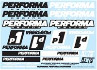 Performa Racing P1 stickers
