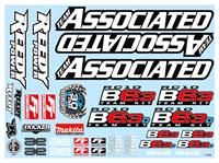 RC10B6.3 Decal Sheet