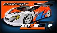 Serpent SRX8 GTE WC 4wd 1/8 EP